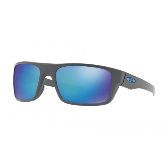fc7bbcd797c Oeala Oakley DROP POINT - 9367-0660 Matte Dark Grey-Prizm Sapphire Polarized