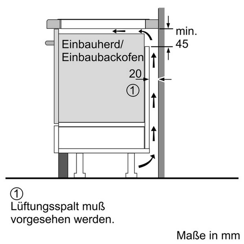Neff TBD4800N T48BD00N0 Induktion 80cm TwistPad Be nung