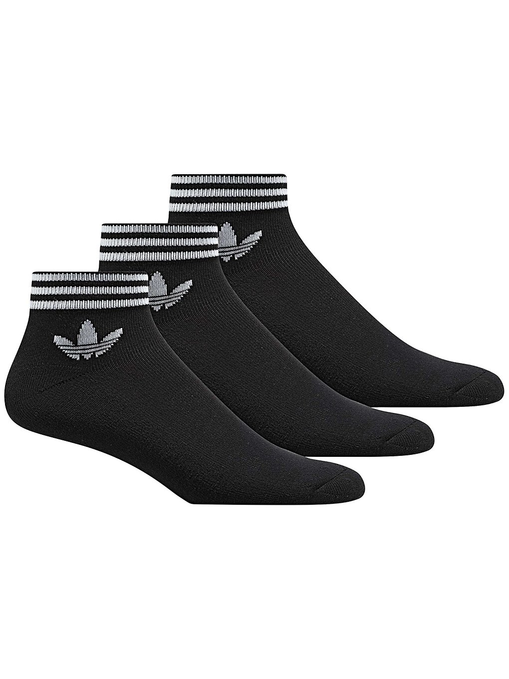 factory outlets 100% top quality 2018 sneakers adidas Originals Trefoil Ank Star Socks Socks black Gr. 43 ...