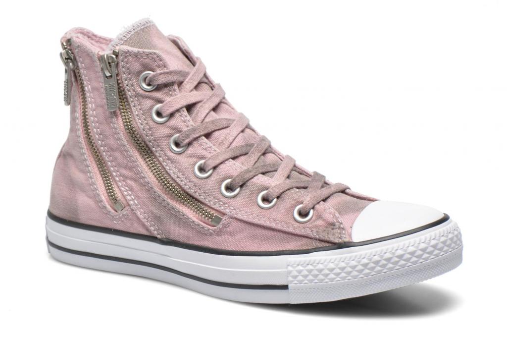 4f6d7d85188 CONVERSE ženski čevlji Chuck Taylor all star Wash Dual Zip W, roza ...