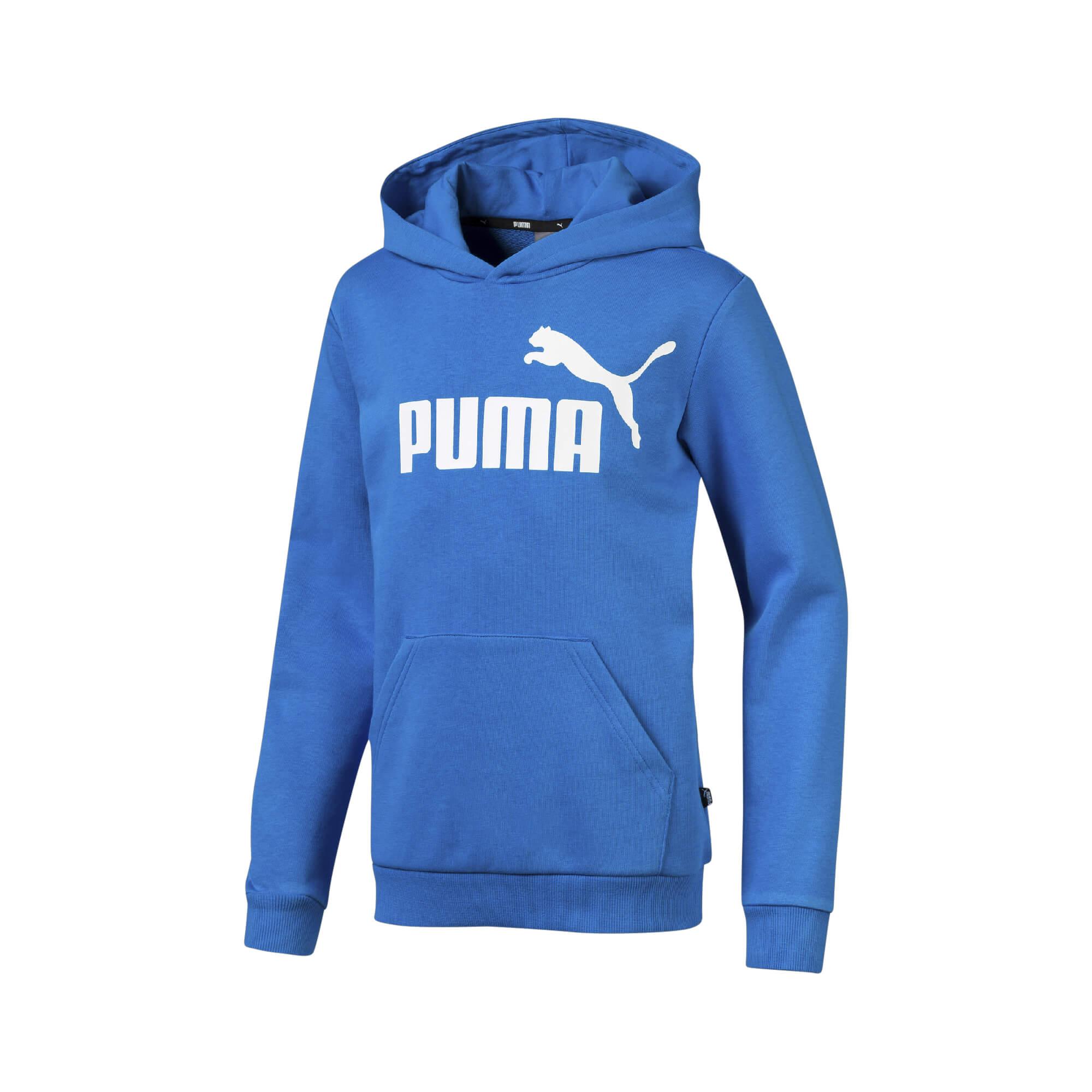 f48f9c440ad0 Puma Dječji pulover Plava 164 ESS Logo Hoody - Jeftinije.hr