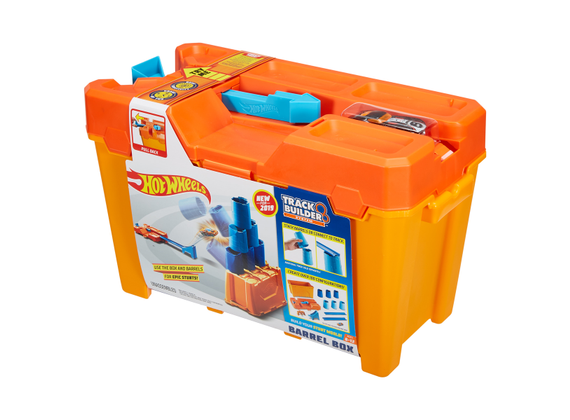 Hot Wheels Track Builder System Fasser Stunt Box Ceneje Si