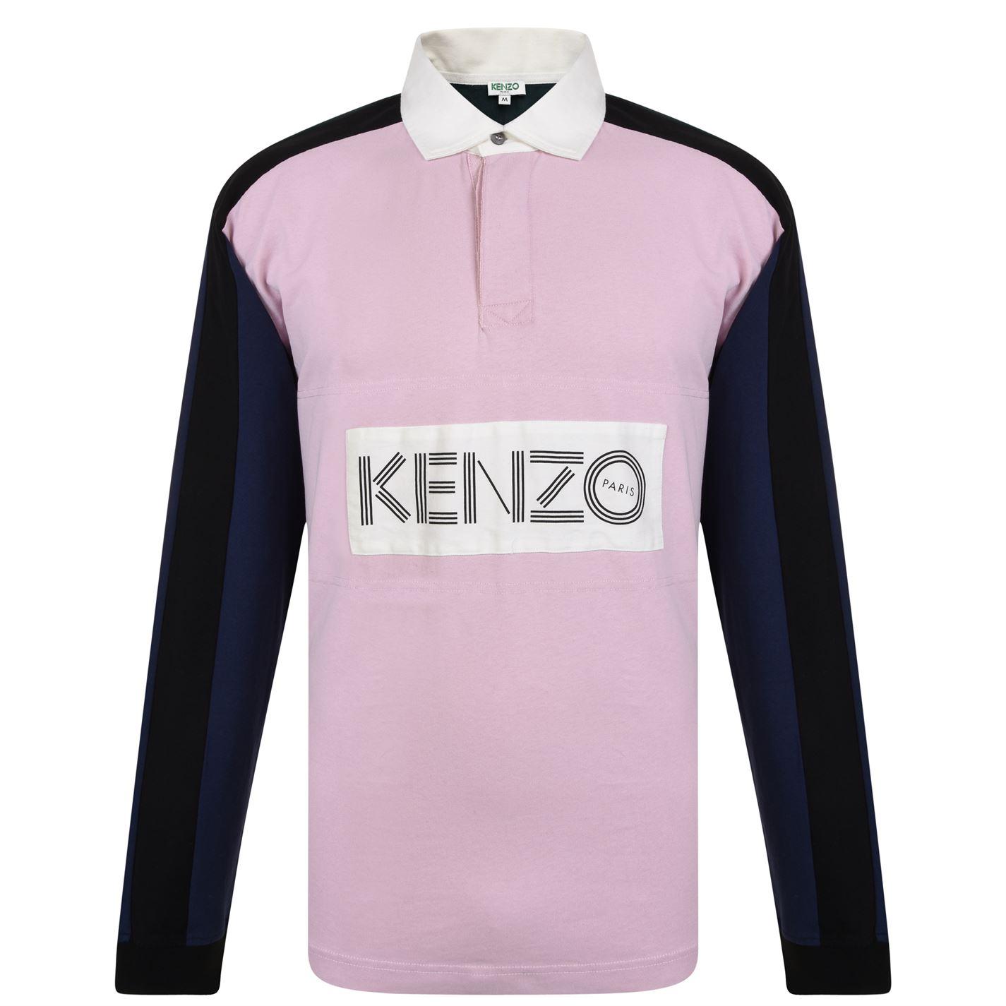 dfbedab1 Kenzo Rugby Long Sleeved Polo Shirt Pink 33 - Jeftinije.hr