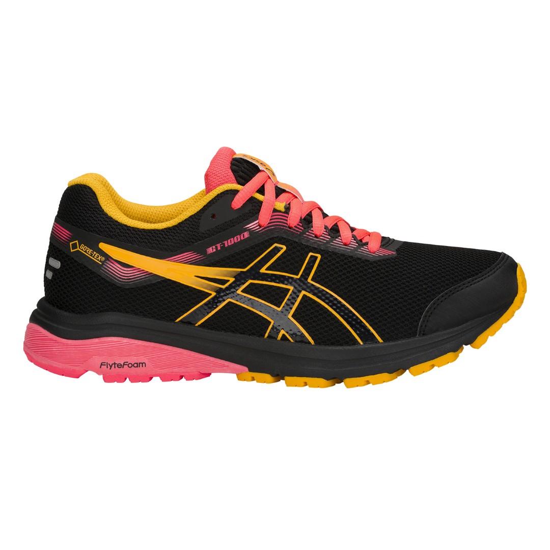 Asics GT 1000 7 G TX W, ženske tenisice za trčanje, crna