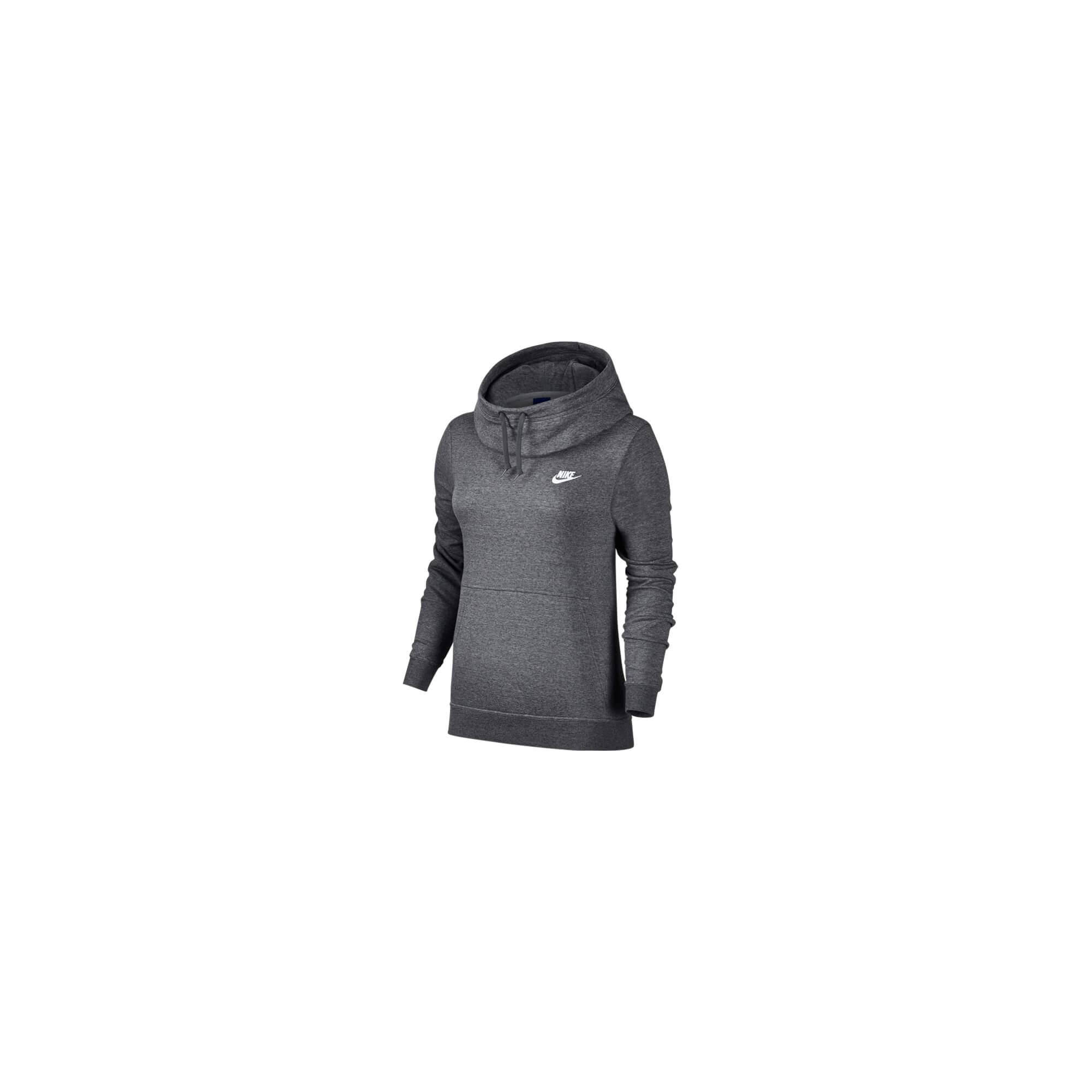 Vtičnica Ženska Nike W NSW OPTC HOODIE, pulover ž.kap., črna