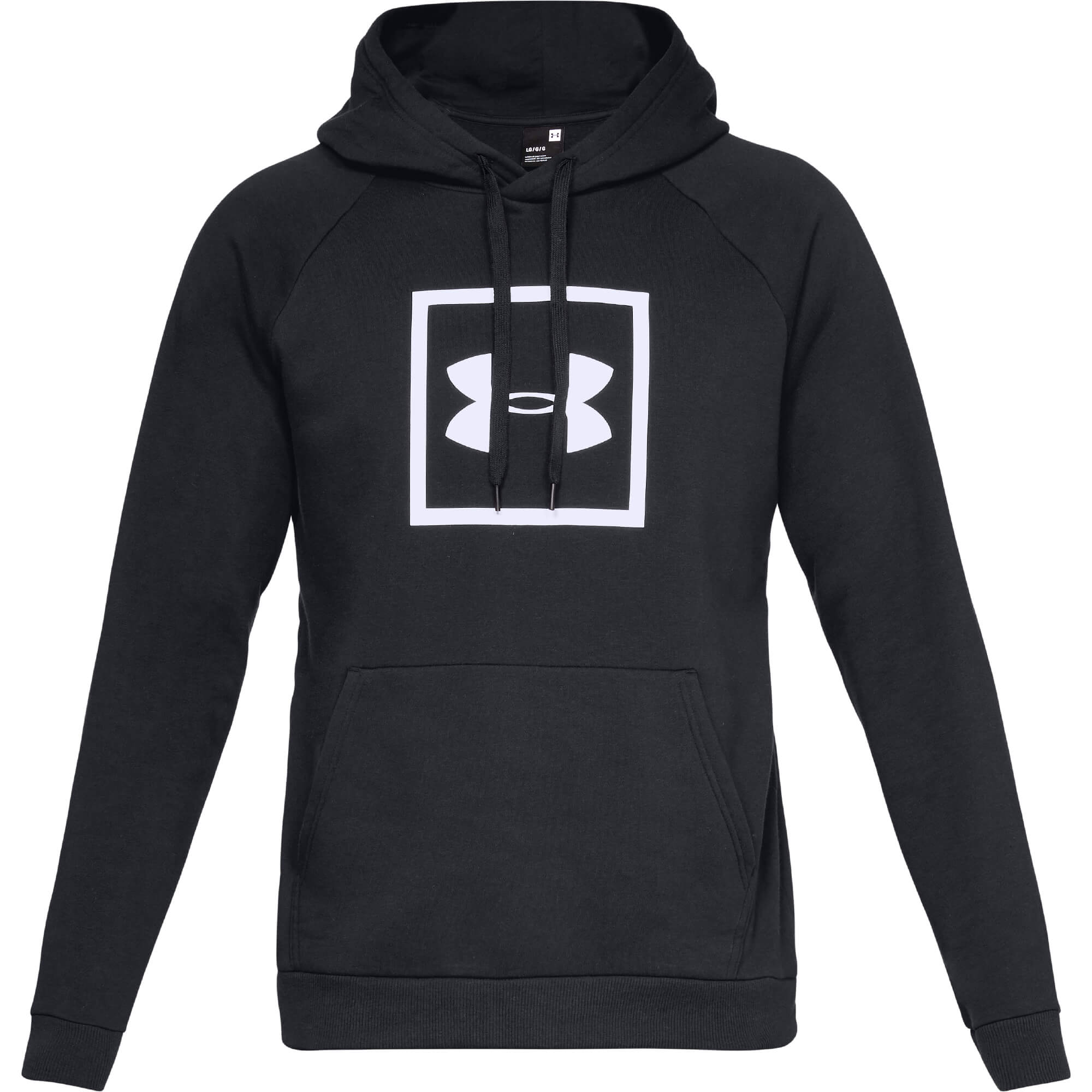 Under Armour Puloverji RIVAL FLEECE LOGO HOODY Črna - Ceneje.si 30d4439fa1