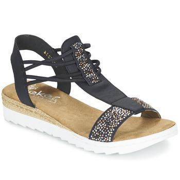 outlet store sale 3ac6c 81bf2 RIEKER ženski sandali & odprti čevlji GRUILINE, črni