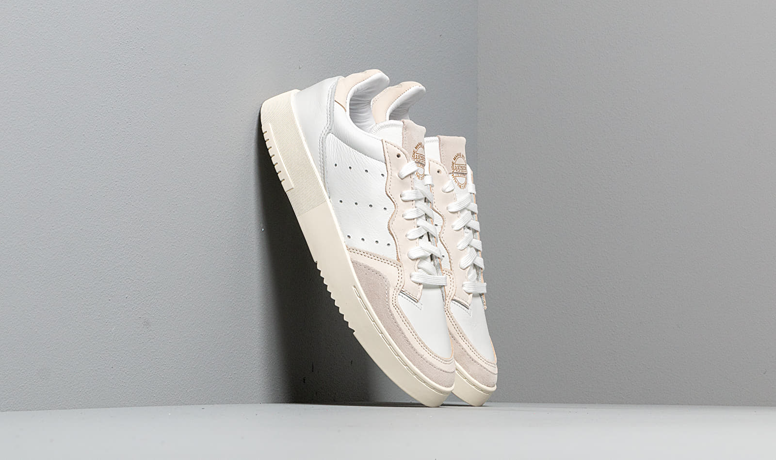 Adidas Supercourt Crystal WhiteCore White EE6024
