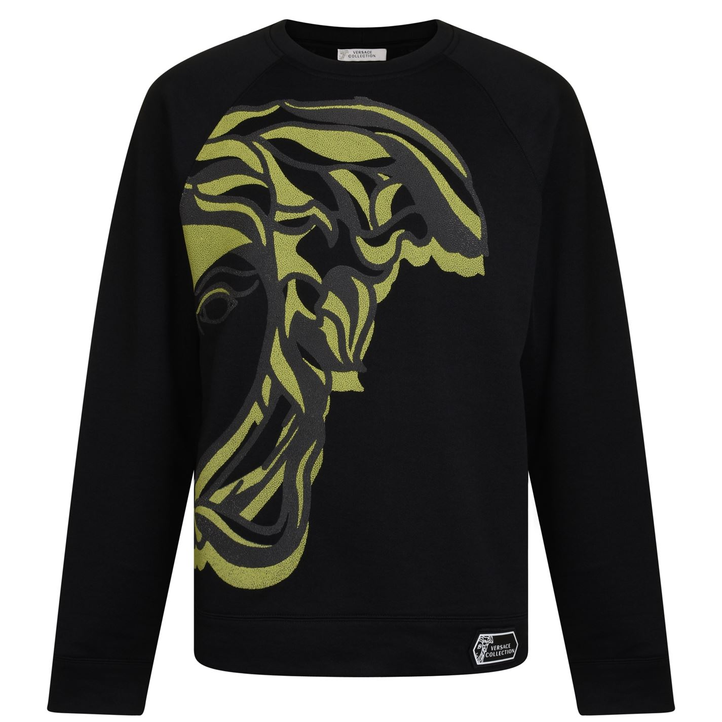 11ae1c57 Versace Collection Print Crew Sweatshirt Black V7008 - Jeftinije.hr