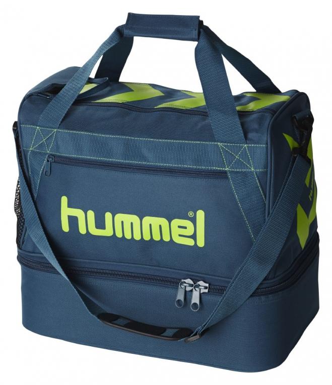 535fef23a1a0e HUMMEL športna torba STAY AUTHENTIC SOCCER L (velika) modra zelena