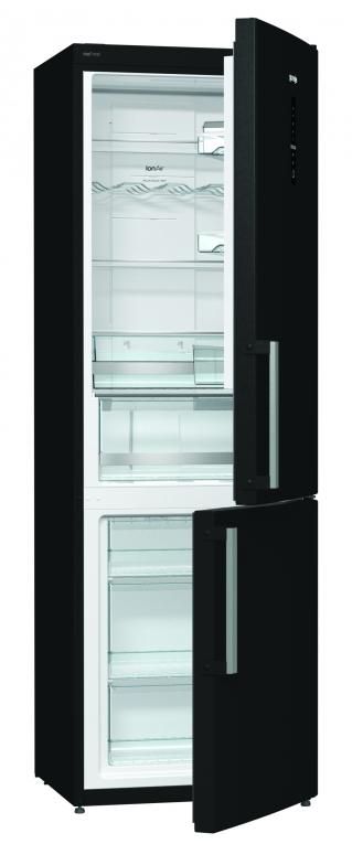 gorenje hladnjak s ledenicom nrk6192mbk. Black Bedroom Furniture Sets. Home Design Ideas