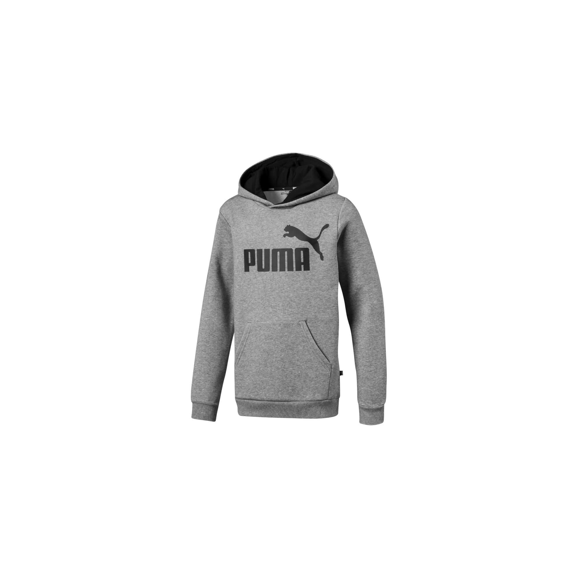 d4b89e5d3904 Puma Dječji pulover Siv 164 ESS Logo Hoody - Jeftinije.hr