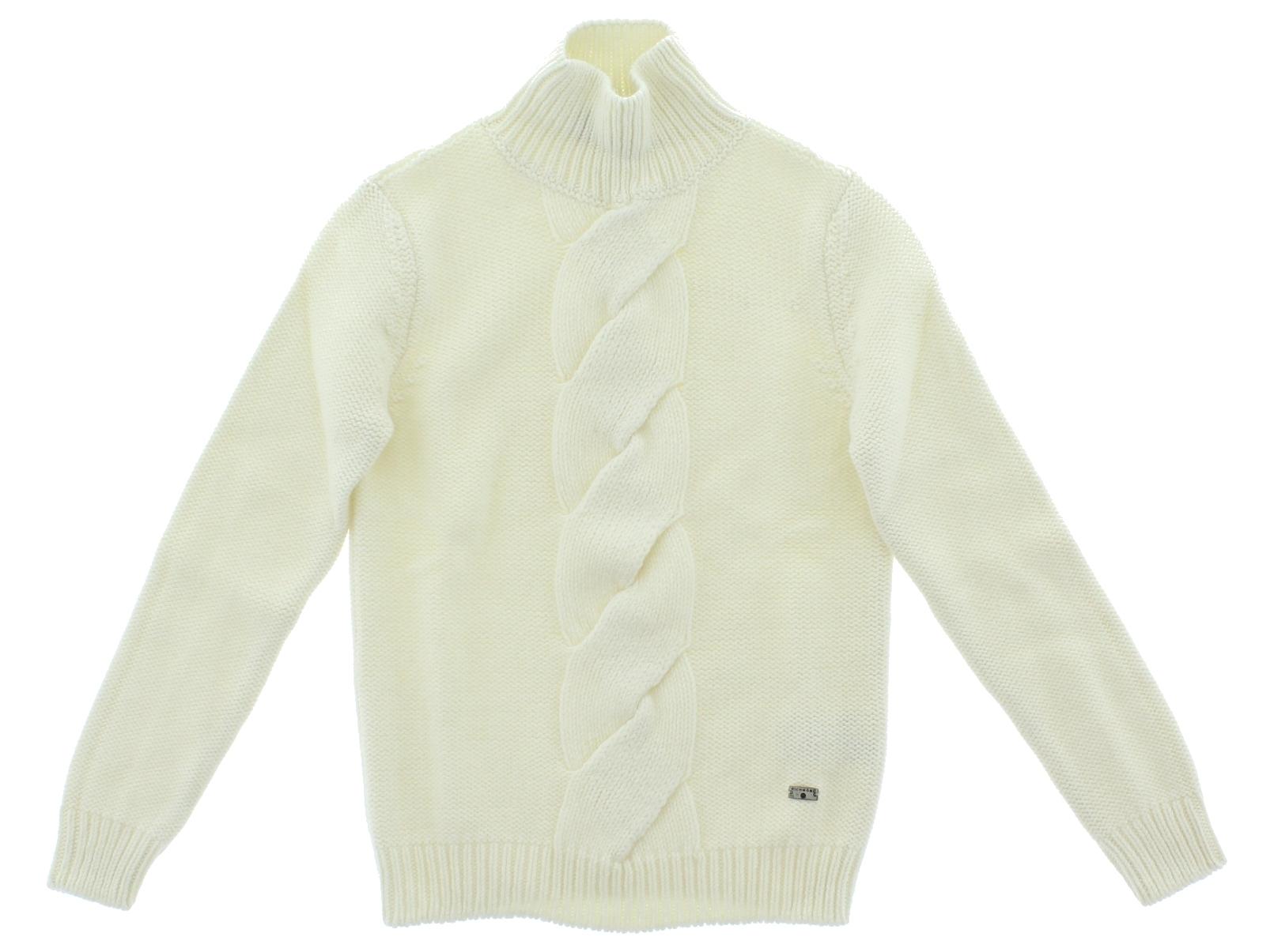John Richmond Otroški pleten pulover N-7-36412-7 Bela - Ceneje.si e8094c4217