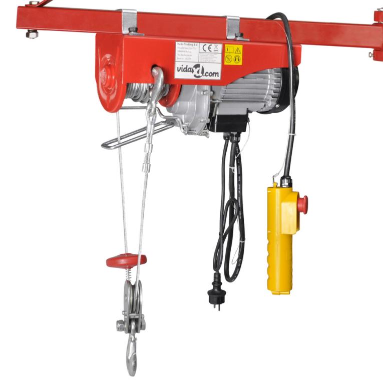 Schema Elettrico Montacarichi 220v : Vidaxl električno dvigalo w kg ceneje si