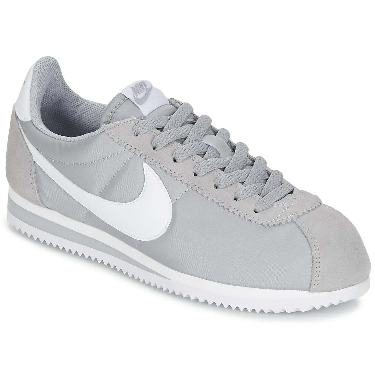 promo code a4953 74659 Nike Nizke superge CLASSIC CORTEZ NYLON Siva