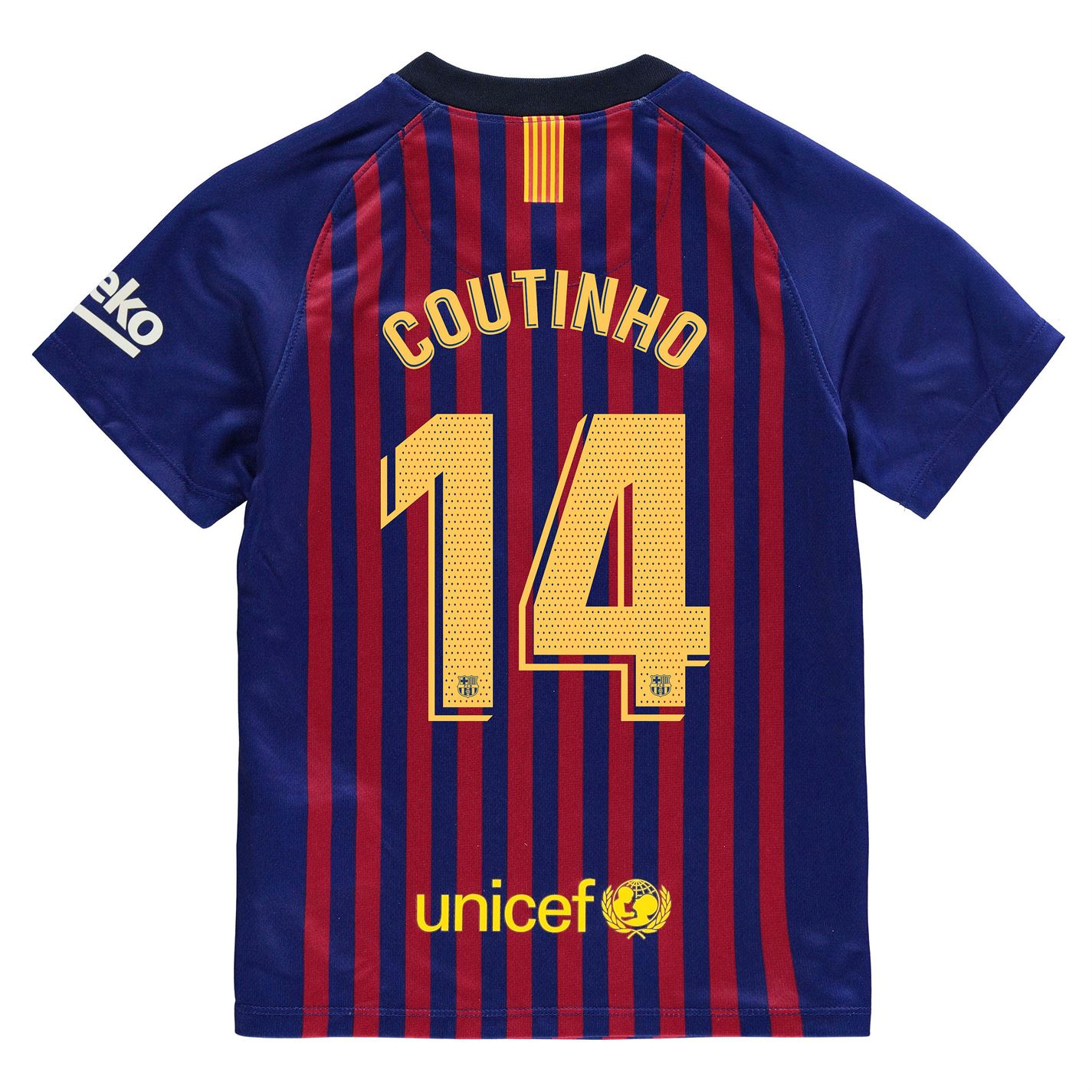 050391c4b75 Team Barcelona Luis Suarez Home Shirt 2018 2019 Junior Plava - Jeftinije.hr