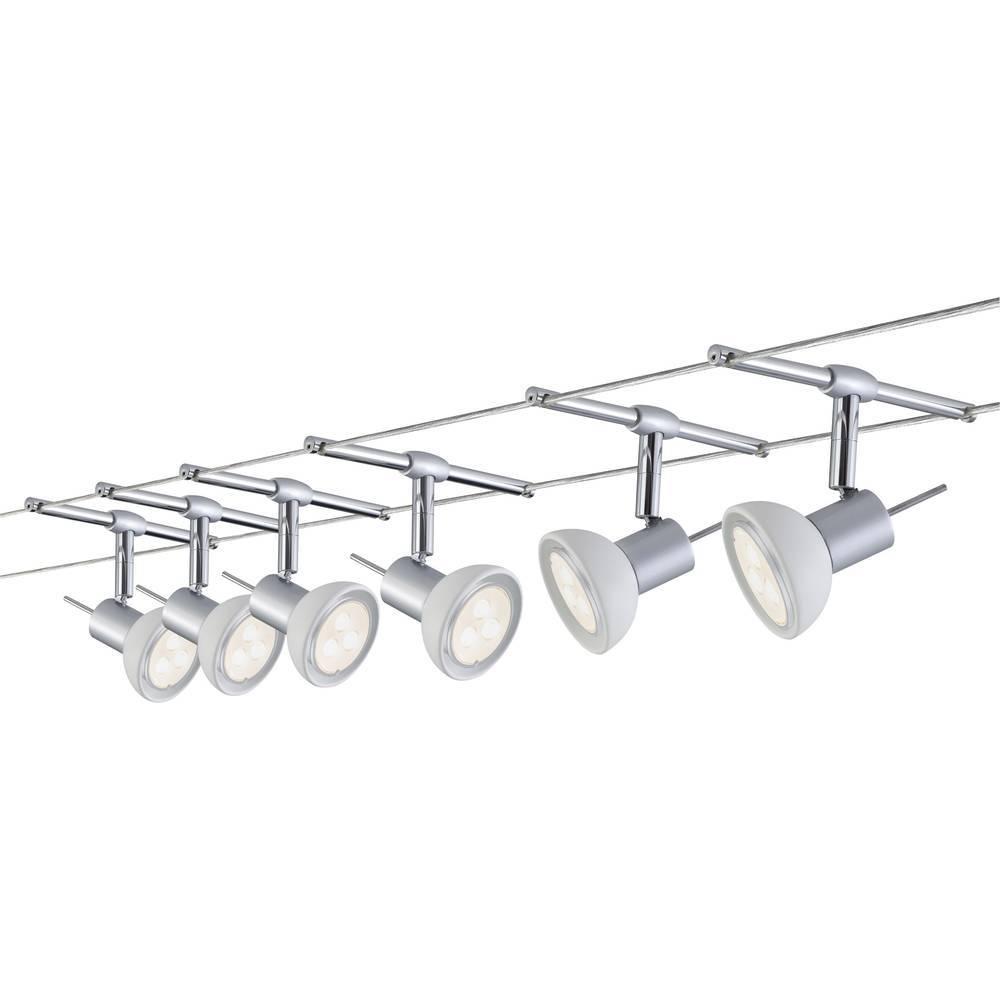 6522a3d02a4 Sustav stropnih svjetiljki za žicu Sheela 94123 Paulmann GU5.3 24.5 W LED  krom (mat) - Jeftinije.hr