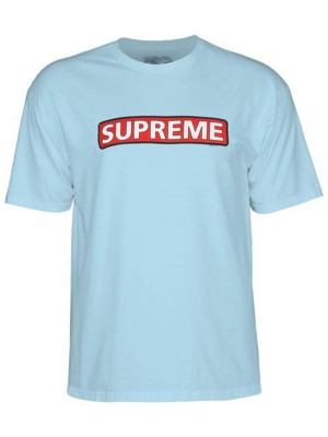 f87db7c58d1d Powell Peralta Supreme T-Shirt T-Shirt lightblue Gr. S - Jeftinije.hr