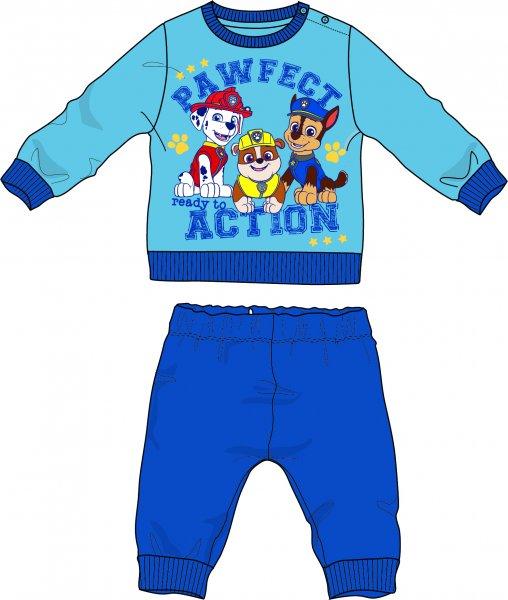 76eed889c243 Disney by Arnetta chlapecké pyžamo Paw Patrol 92 sivo-plava ...