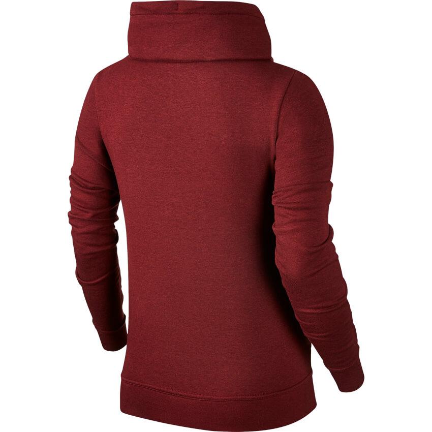 5ae247425ee4 Nike ženski pulover   854306-619 Rdeča L NSW JKT FNL GX - Ceneje.si