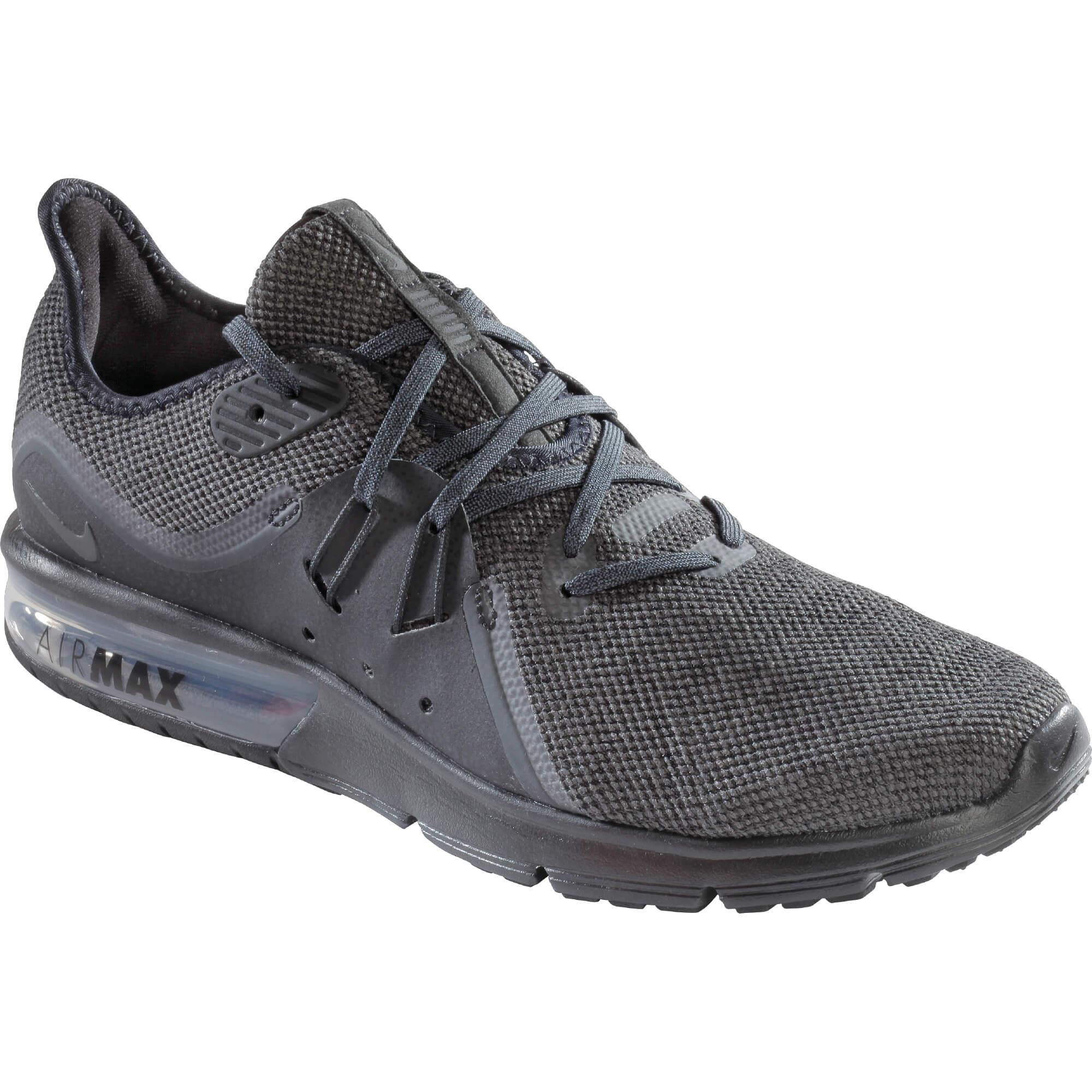 competitive price 666df 46309 Nike NIKE AIR MAX SEQUENT 3, muške tenisice za trčanje, crna ...