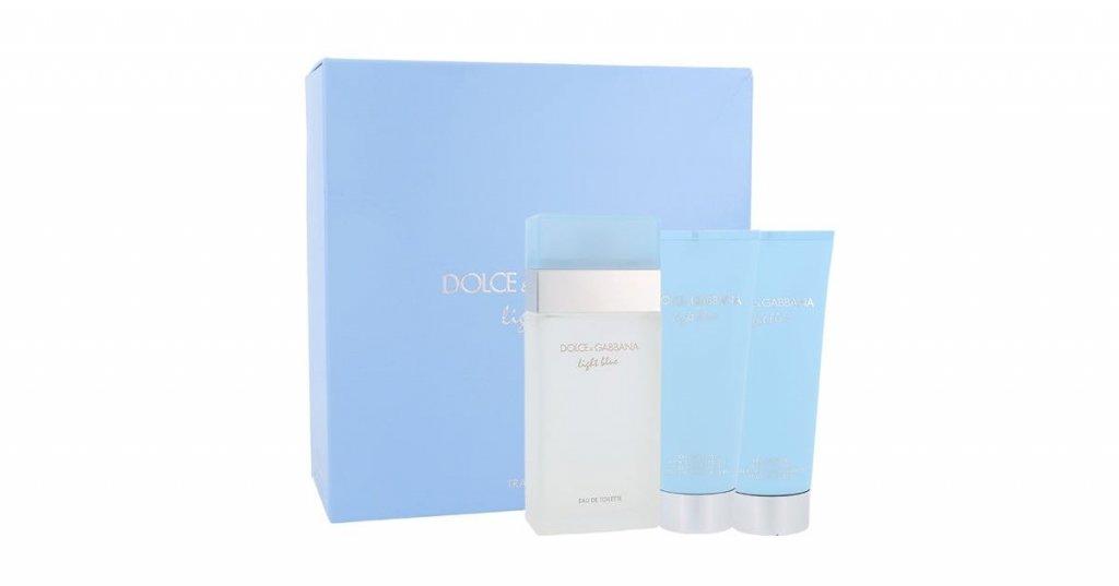 37b8bd21d Dolce & Gabbana Light Blue toaletna voda 100 ml + losion za tijelo 100 ml +