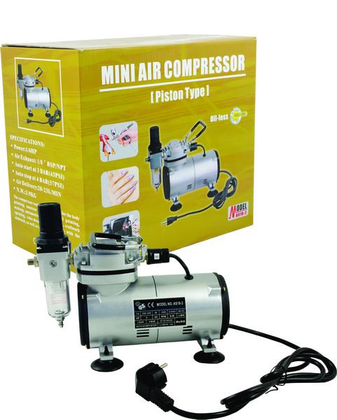 airbrush mini kompresor as18 2 ceneje si
