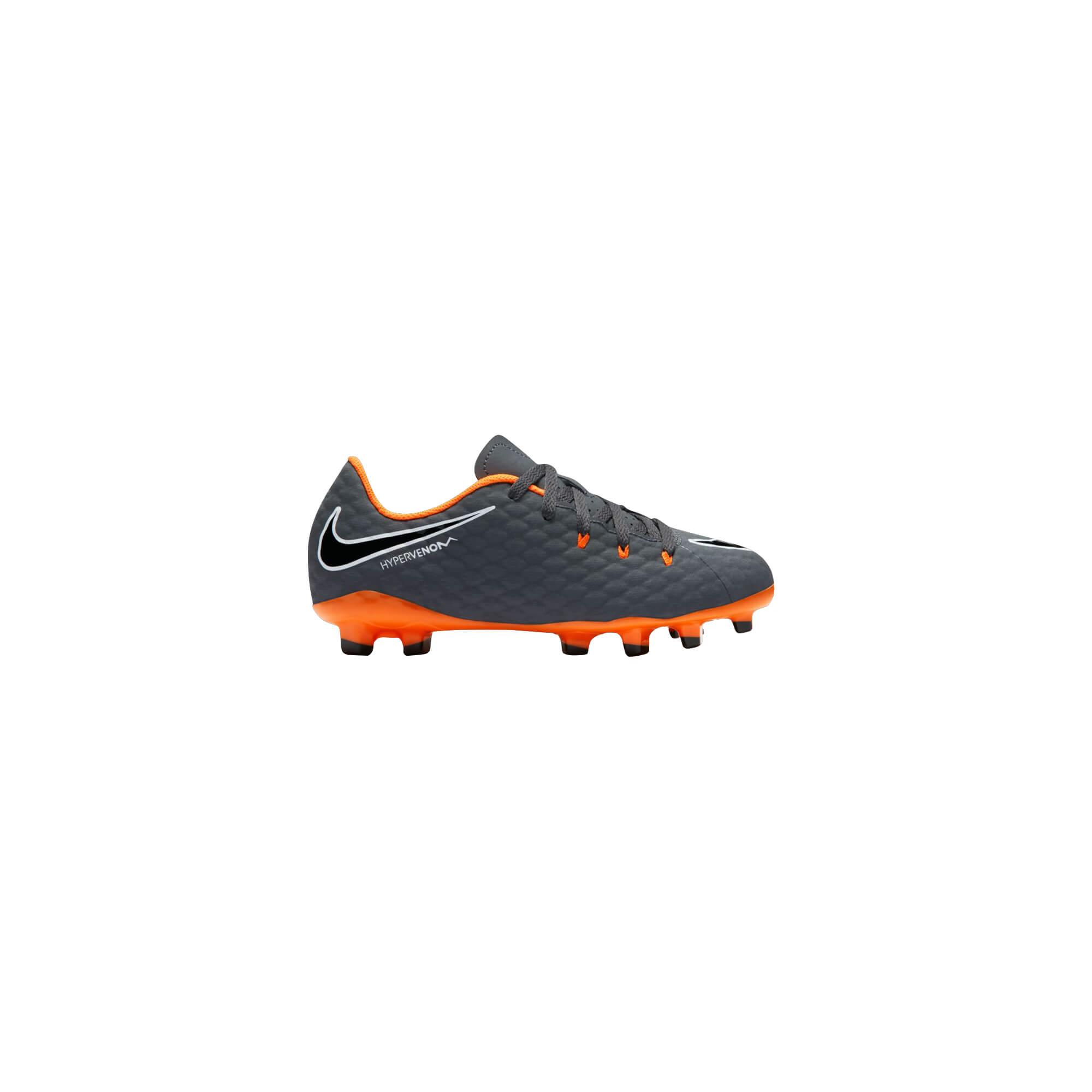 8ac3c5c88 Nike Otroška obutev za nogomet JR. HYPERVENOM PHANTOM 3 FG Siva ...