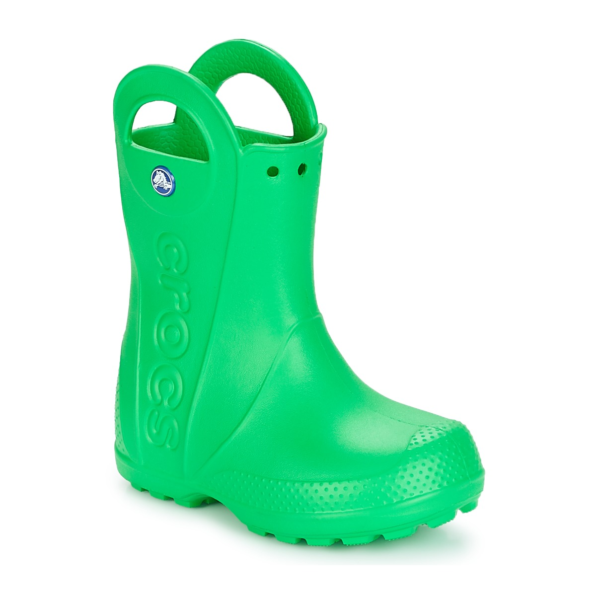 7f37fa25e0e67 Crocs Gumene čizme HANDLE IT RAIN BOOT KIDS Zelena - Jeftinije.hr