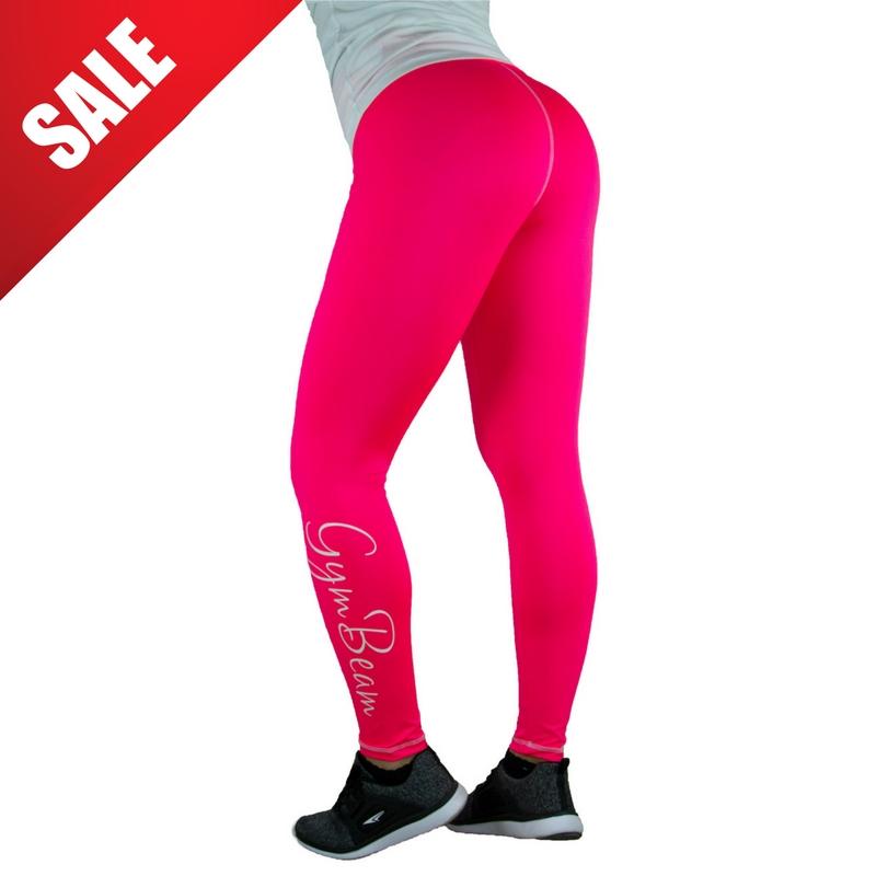 d94bdce3703 Ženske tajice Vertical Pink White - GymBeam pink M - Jeftinije.hr