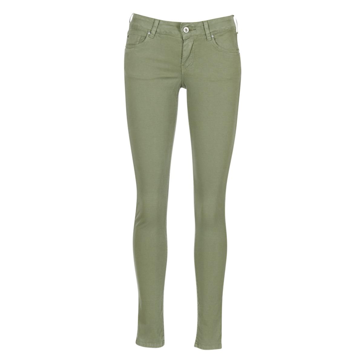 Pepe jeans hlače s 5 žepi SOHO Zelena - Ceneje.si 3fa54a3c90e