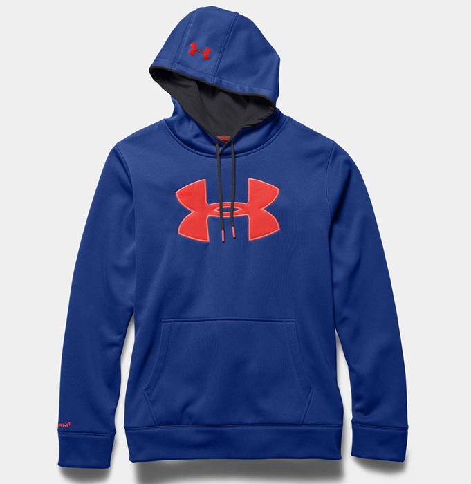 UNDER ARMOUR moški pulover AF BIG LOGO HOODIE (1259632-421) - Ceneje.si 61b2957a87
