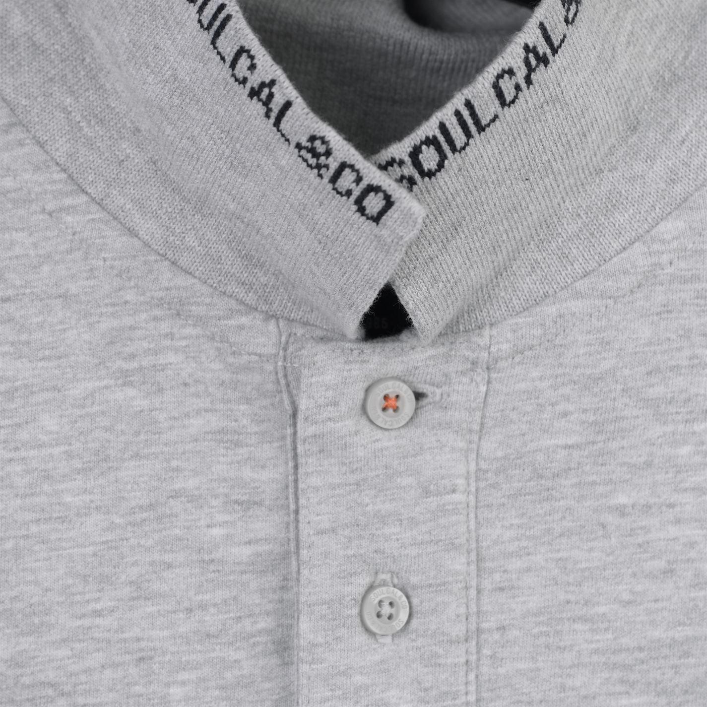 5a91154e4b6 Polo majica SoulCal Signature Polo Shirt Mens Siva - Jeftinije.hr