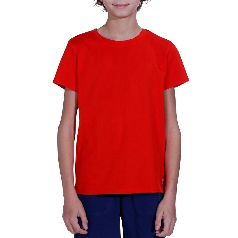 cdd2c897b Rdeča majica s kratkimi rokavi za dečke - Ceneje.si