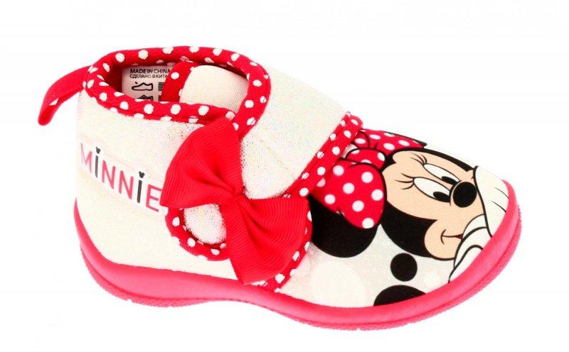 835f6402726d Disney by Arnetta dívčí bačkůrky Minnie 25 roza - Jeftinije.hr