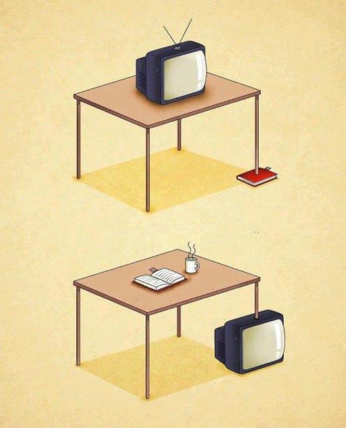 motivi per Guardare meno TV