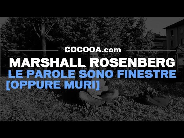 video recensione libro marshall rosenberg - le parole sono finestre