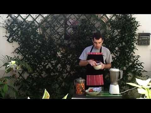 frullato-pesca-spinaci-menta