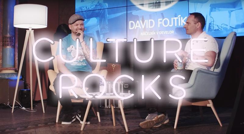 David Fojtík na Culture Rocks