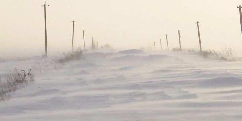 Сильный ветер и снегопады не утихают уже четвертые сутки: на Прикарпатье замело дороги к полусотне сел (видео)