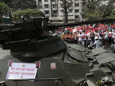 Россия одобрила военный переворот в Мьянме – СМИ