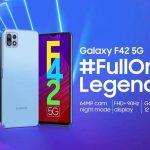 Теперь официально: Samsung Galaxy F42 5G с 6.6-дюймовым экраном на 90 Гц и чипом MediaTek Dimensity 700 покажут 29 сентября