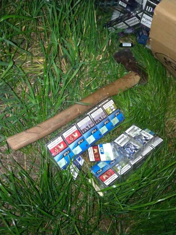 На Прикарпатті злодій хотів відкупитися від поліції краденими сигаретами