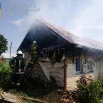На Коломийщині спалахнула пожежа в житловому будинку