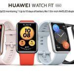 Huawei Watch Fit new c AMOLED-экраном, NFC и датчиком SpO2 выйдут в Европе