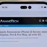 Инсайдер показал как может выглядеть iPhone 14 с «дырявым» экраном