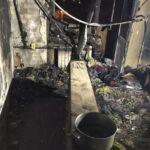 Одна погибла, 30 спасли: на Новых домах — пожар в пятиэтажке