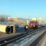 Восемь пострадавших: под Харьковом перевернулась маршрутка
