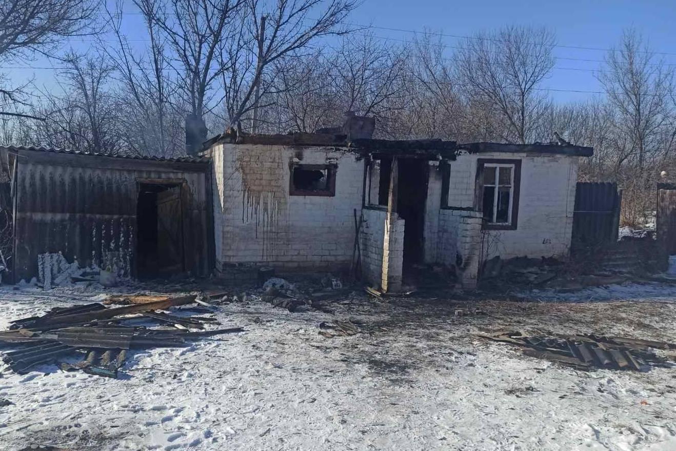 На Харьковщине во время пожара в домовладении нашли тело погибшего мужчины