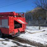 В Харьковской области из-за короткого замыкания произошел пожар в частном доме